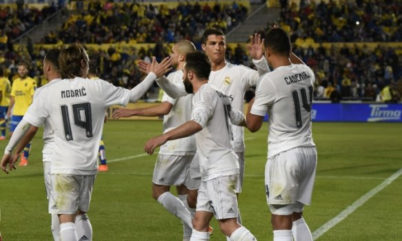 Las Palmas x Real Madrid (foto:DESIREE MARTIN / AFP)