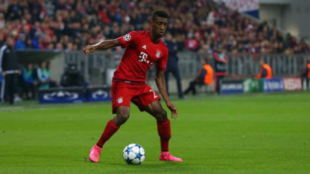 Meia: Kingsley Coman (Bayern de Munique)