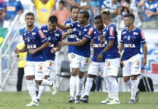 Cruzeiro vence o Guarani-MG e assegura liderança da primeira fase do Mineiro (Foto: Washington Alves/Light Press/Cruzeiro)