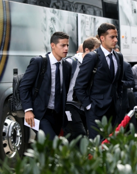 Desembarque do Real Madrid - James Rodriguez