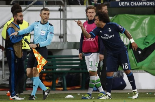 Marcelo - Wolfsburg x Real Madrid
