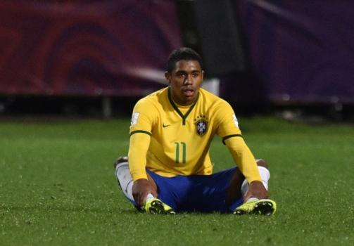 Com apenas 19 anos, o atacante Malcom já deixou o Corinthians e hoje joga no Bordeaux