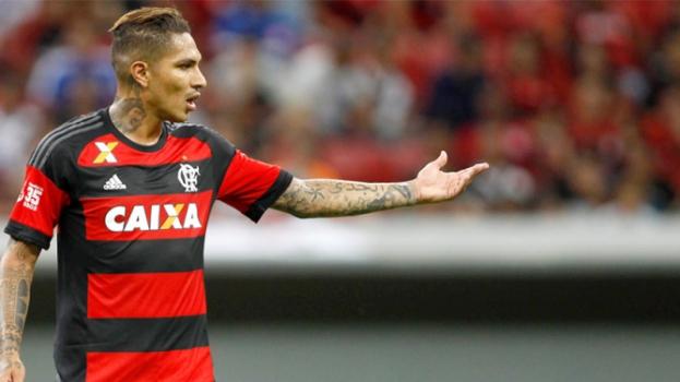 HOME - Flamengo x Vasco - Campeonato Carioca - Guerrero (Foto: Adalberto Marques/AGIF/LANCE!Press)