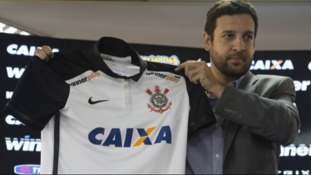 Gustavo Herbetta, superintendente de marketing, do Corinthians (Foto: Daniel Augusto Jr)