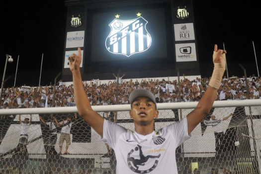 David Braz, zagueiro do Santos