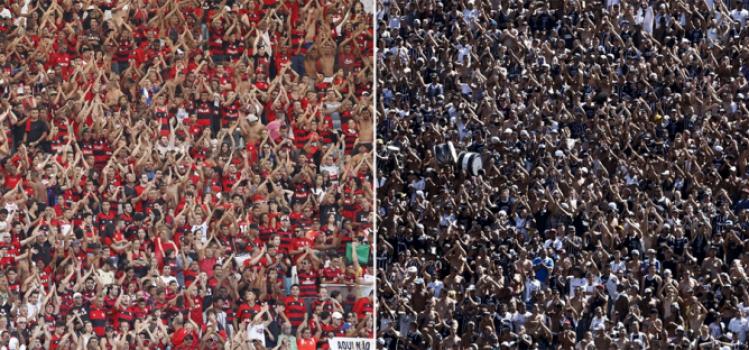 Última pesquisa LANCE/Ibope mostrou Flamengo na frente, mas