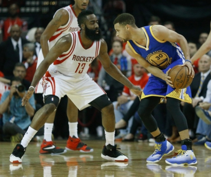 O Golden State Warriors abriu 3 a 1 na série contra o Houston Rockets, mas seu grande astro, Stephen Curry, pode ficar de fora dos playoffs
