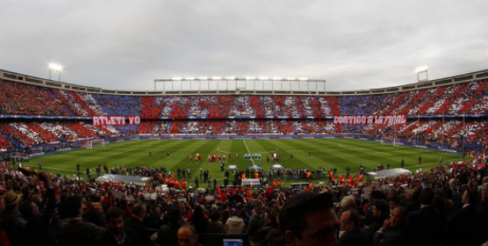 Torcida - Atletico de Madrid x Bayern de Munique