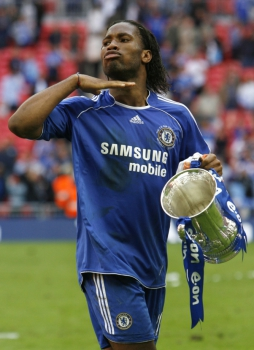 Didier Drogba Chelsea 2007
