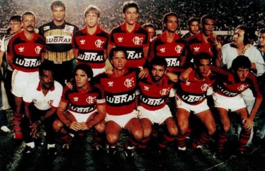 Flamengo campeão da Copa do Brasil de 1990
