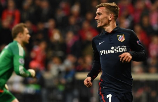 Griezmann - Bayern de Munique x Atletico de Madrid