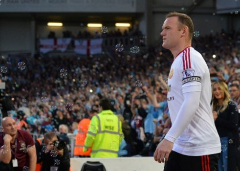 Rooney - West Ham x Manchester United