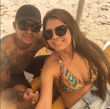 Mallu Ohana - esposa do atacante Dudu, do Palmeiras