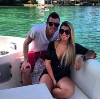 Priscila Loureiro - esposa do goleiro Paulo Victor, do Flamengo