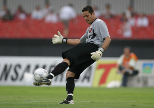 Flamengo 2003 - Julio Cesar (foto:Eduardo Viana/LANCE!Press)
