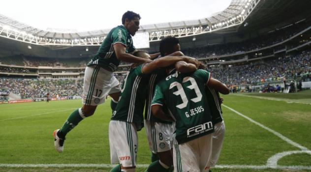 Palmeiras tem maior público e maior placar em rodada de poucos gols