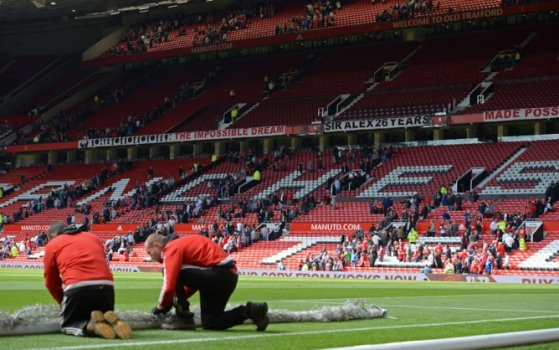 Old Trafford - ameaça de bomba - Manchester United x Bournemouth