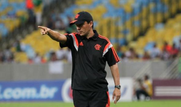 Zé Ricardo, técnico interino do Flamengo (Foto: Divulgação/Flamengo)