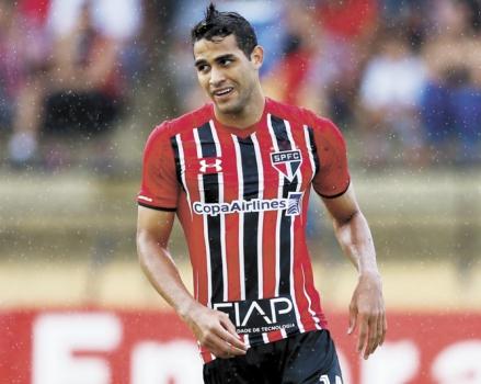 Kardec sonha com gol na Liberta e tenta desencantar contra o Palmeiras