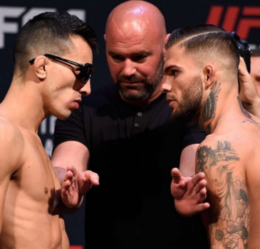 Thomas Almeida encara Cody Garbrandt na luta principal do UFC Fight Night Las Vegas