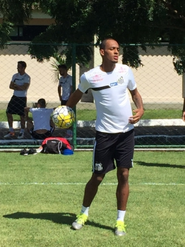 Treino do Santos no CT do Sport