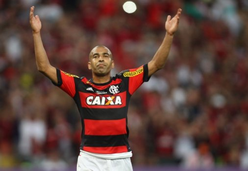 Flamengo - Emerson Sheik (foto:Paulo Sergio/LANCE!Press)