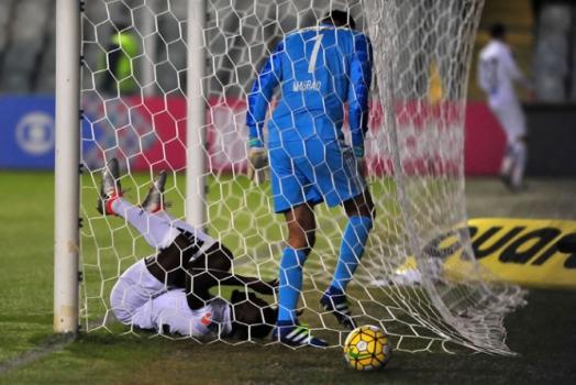 Santos 2x0 Sport - Gol perdido por Joel