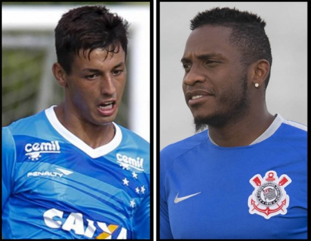Marciel e Willians (foto:Washington Alves/Light Press/Daniel Augusto Jr/Corinthians)