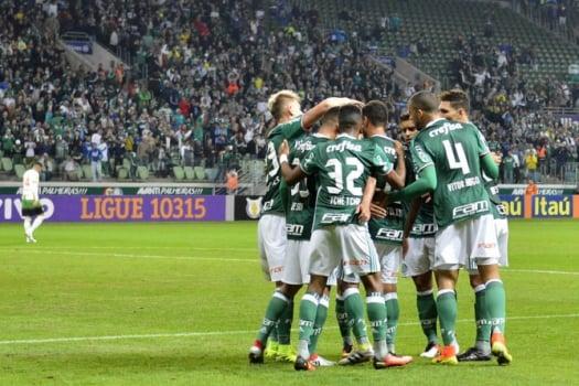 Como mandante, Palmeiras fica perto de igualar sequ�ncia vitoriosa de 96