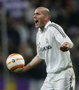 Zidane no Real Madrid 2006