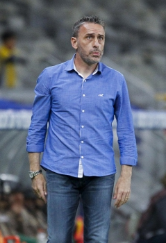 Paulo Bento, técnico do Cruzeiro (Foto: Washington Alves/Light Press)