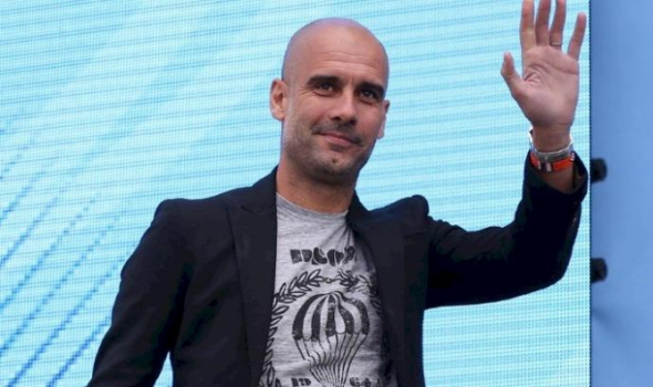 Guardiola é apresentado no Manchester City