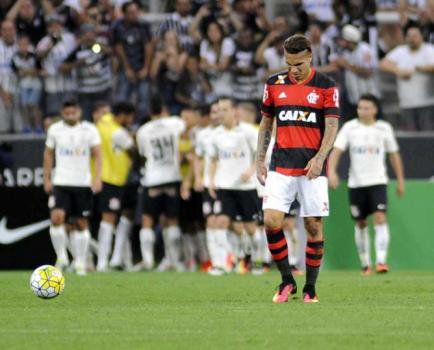 Corinthians x Flamengo - Guerrero