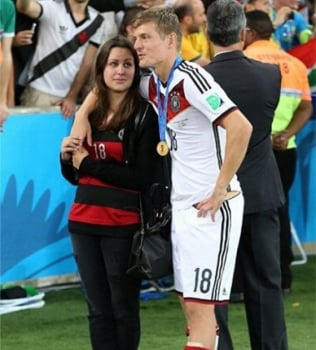 Jessica - Mulher do Toni Kroos