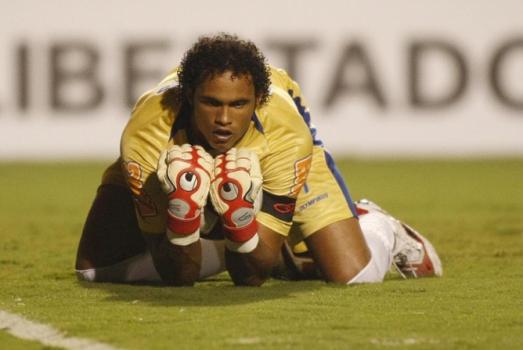 Goleiro Bruno no Flamengo