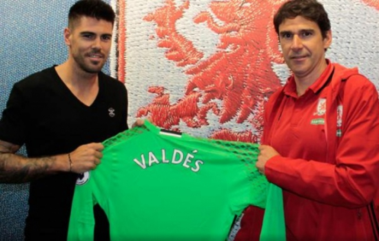 Valdés e Karanka - Middlesbrough