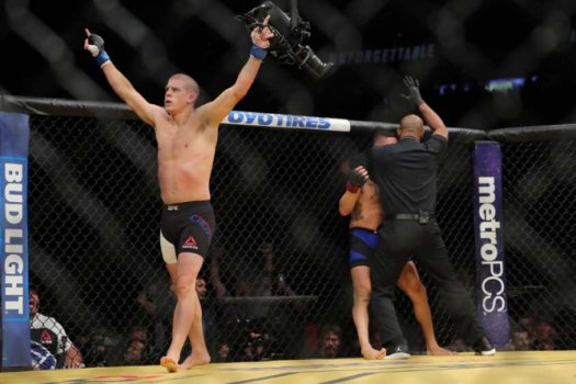 UFC 200 -  Joe Lauzon x Diego Sanchez (Foto:AFP)