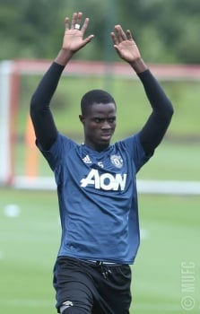 Bailly - Treino do Manchester United