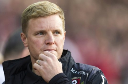Eddie Howe (Técnico do Bounemouth - ING)