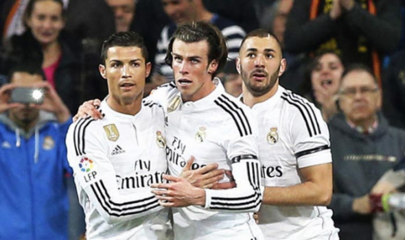Bale, Benzema e CR7 - REAL MADRID