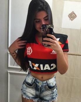 Letícia Candiani, namorada do Felipe Vizeu