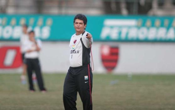 Ney Franco no Flamengo (em 2006)