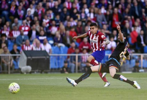 Ángel Correa, do atlético de Madrid