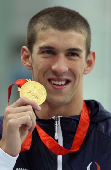 Michael Phelps China (Foto:AFP)
