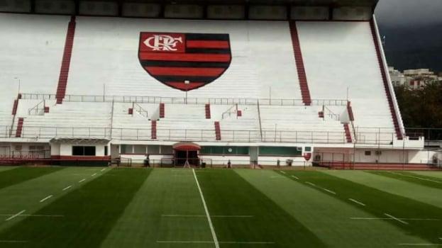 Resultado de imagem para estadio do flamengo gavea