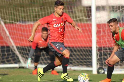 Treino Diego Flamengo