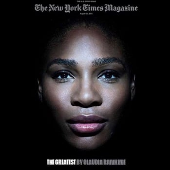 Serena Williams na capa da The New York Times