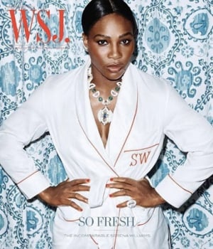 Serena Williams na capa da WSJ. Magazine