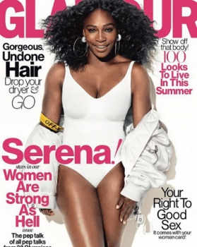 Serena Williams na capa da Glamour