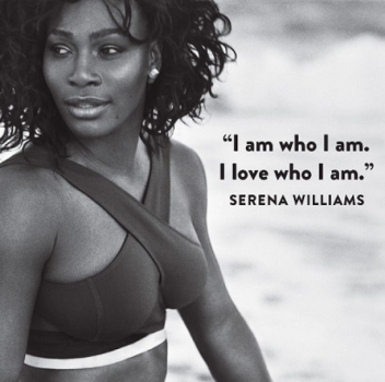 Serena Williams na SELF Magazine